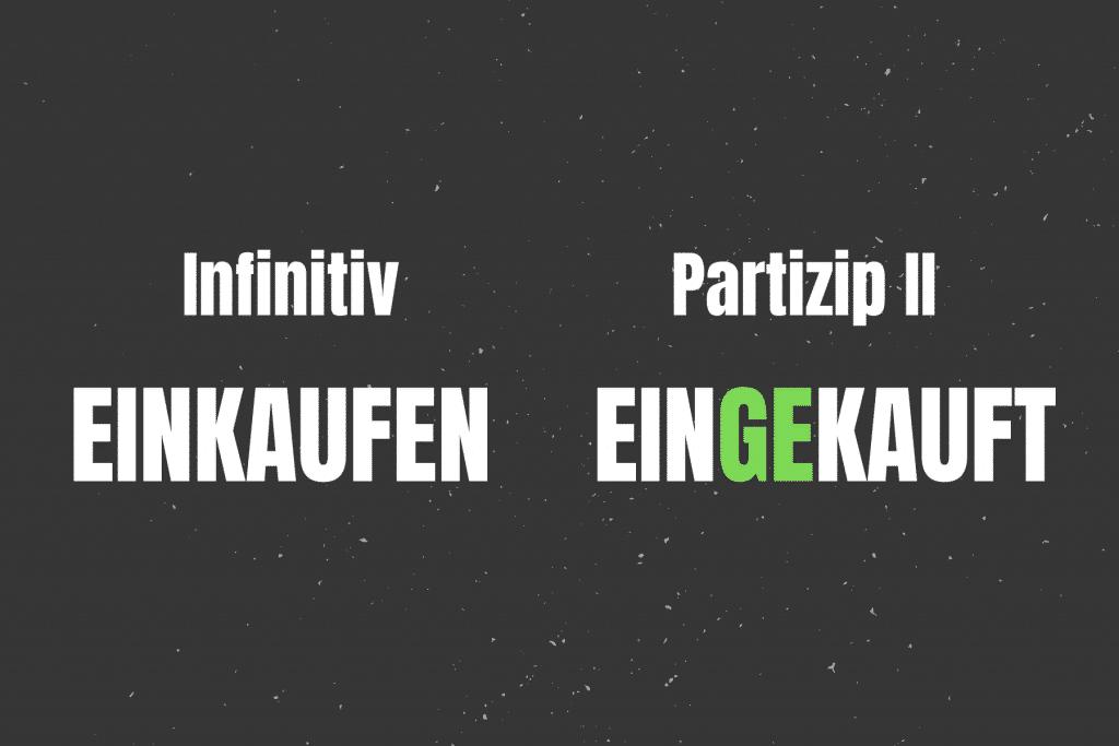 German Perfekt Trennbare Verben